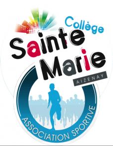 Logo AS Sainte Marie fond Blanc