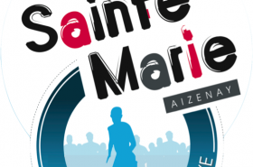 Logo AS Sainte Marie fond Blanc