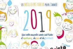 Carte de voeux pour 2019